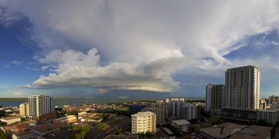 Darwin City Shelf Cloud 22 March 2016