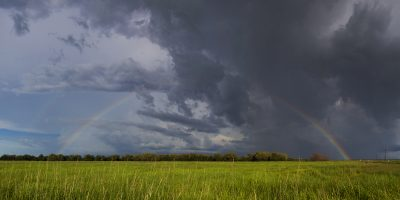 Full Rainbow - Adelaide River Flood Plains