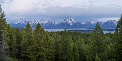 Grand Tetons Panoramic