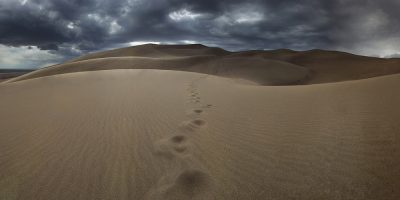 Great Sanddunes National Park, Colorado (Footprints)