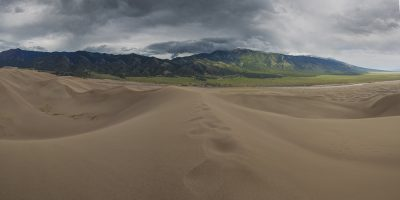 Great Sanddunes National Park, Colorado (Mountains)