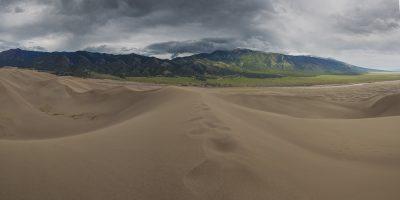 Great Sanddunes National Park, Colorado (Mountains)