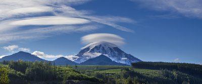 Mount Rainier Lenicular Clouds