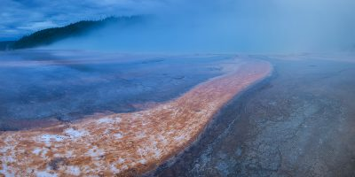 Prismatic Pool - Midway Geyser Basin, Yellowstone National Park, Wyoming2