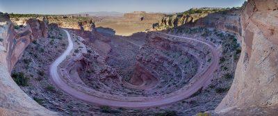 Shafer Canyon - Canyon Lands National Park, Utah