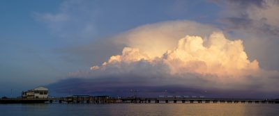 Shelf Cloud over Darwin Harbour 4-4-151