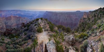 Sunrise - Desert View, Grand Canyon, Arizona (Before sunrise)