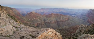 Sunrise - Desert View, Grand Canyon, Arizona (Northwest View)