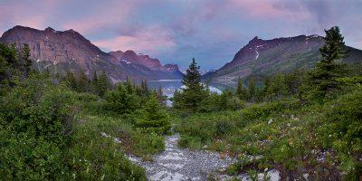 Sunrise - Glacier National Park, Montana