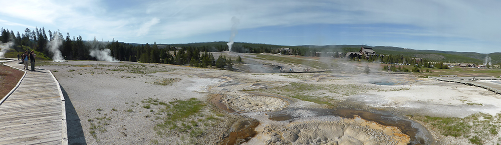 Old Faithful - Yellowstone NP4816