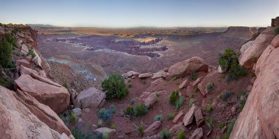 Grand View Point Overlook - Canyon Lands National Park, Utah