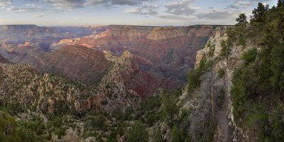 Grand View Sunset, Grand Canyon, Arizona (East View)