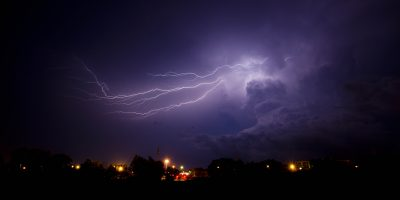 Late Night Lightning - 8th December 2012