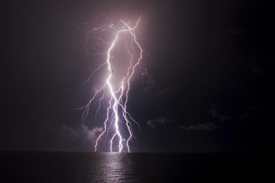Lightning Over Nightcliff - 31st December 2012 (2)