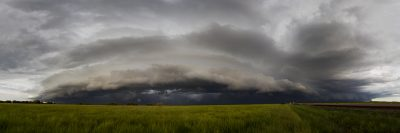 Shelf Cloud, Adelaide River Flood Plain - 14 Feb 2016