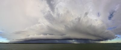 Shelf Cloud, Darwin Harbour 12-03-15
