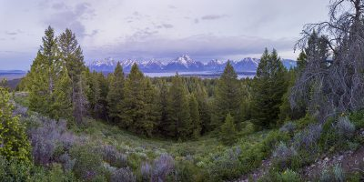 Signal Mountain view of the Tetons
