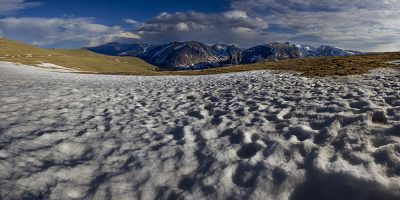 Snow Melt - Rocky Mountain National Park, Colorado